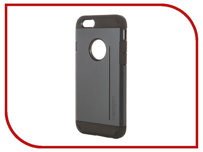Аксессуар Чехол Spigen SGP Tough Armor S Series для iPhone 6 4.7-inch Metal Slate SGP11043<br>