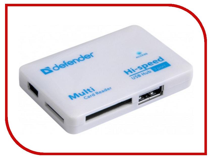 Карт-ридер Defender Combo Tiny 83502