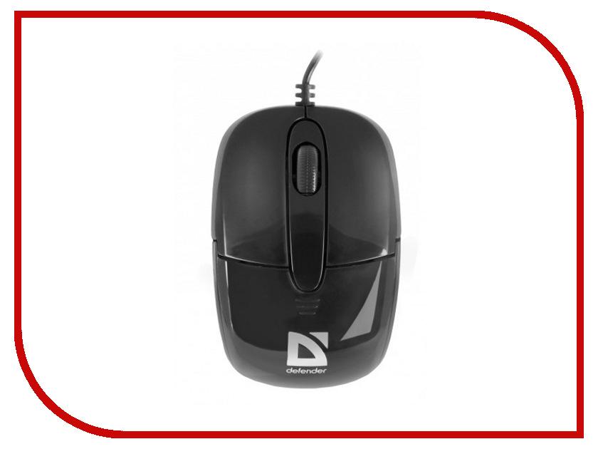 Мышь проводная Defender Optimum MS-130 USB Black 52130