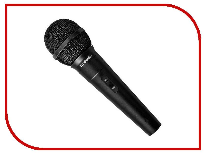 Микрофон Defender MIC-130 64131 микрофон defender mic 115 1 7m black 64115