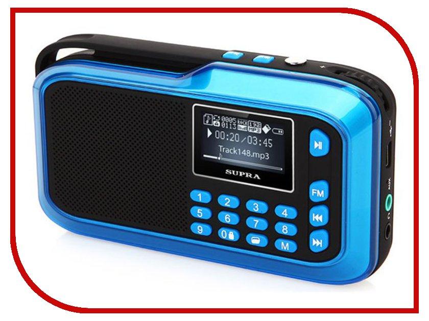 Радиоприемник SUPRA PAS-3909 Blue redmond rfp 3909