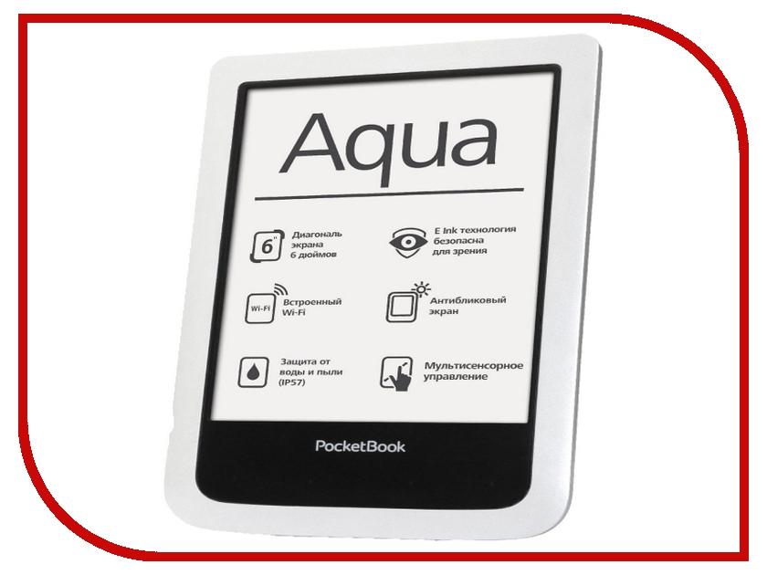 Электронная книга PocketBook Aqua 640 White PB640-D-RU