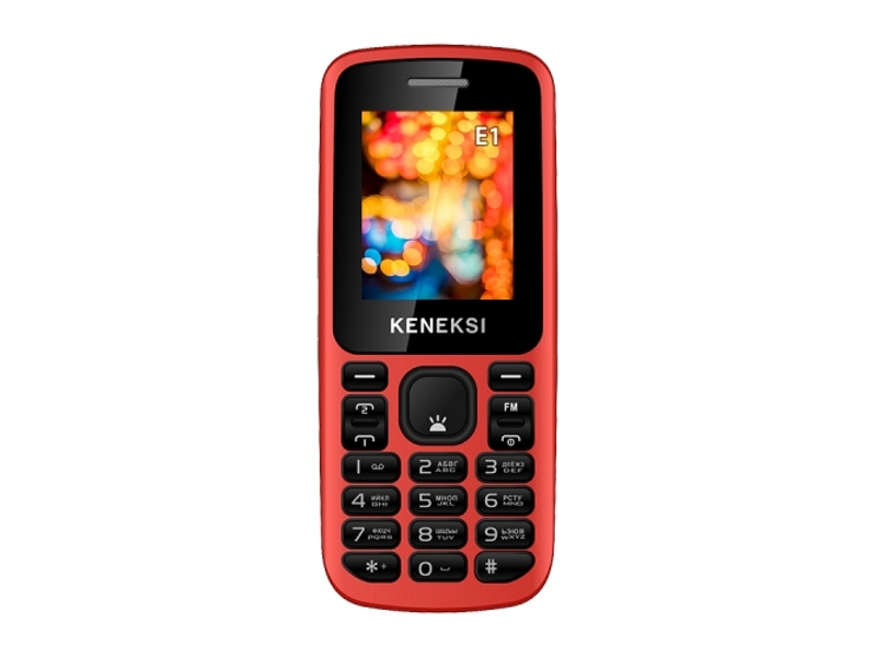Сотовый телефон KENEKSI E1 Red<br>