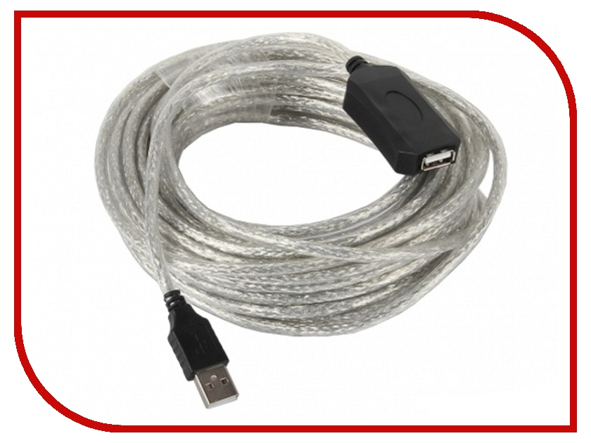 Аксессуар VCOM USB 2.0 AM-AF 5m VUS7049<br>