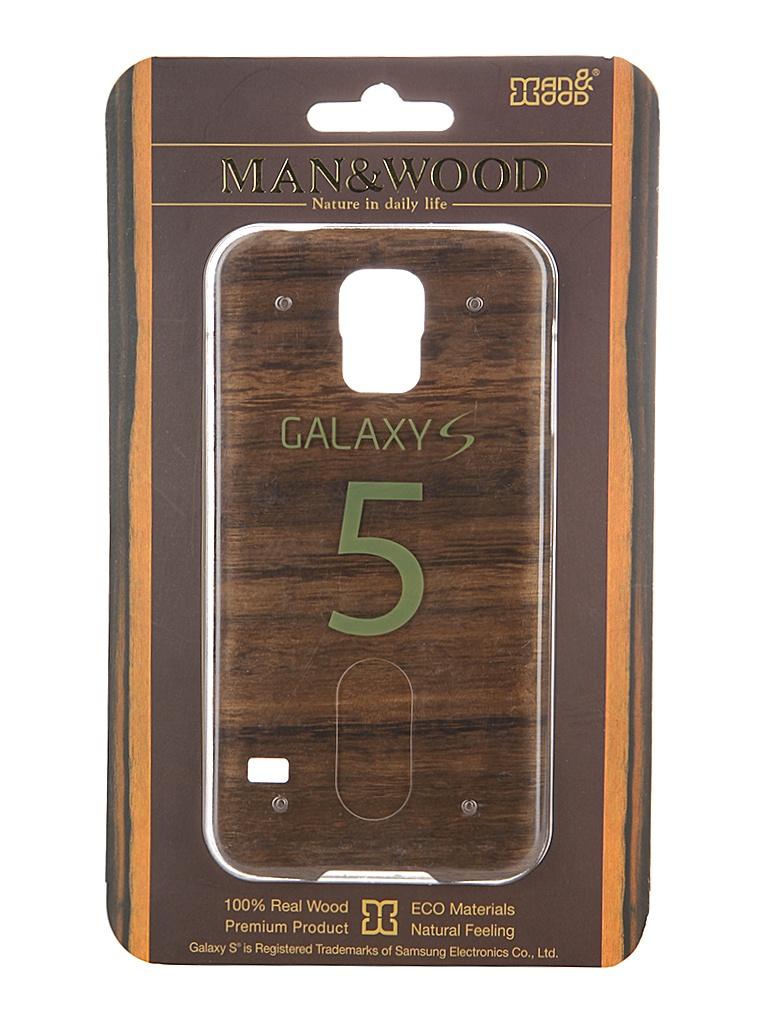 ��������� ����� Samsung G900 Galaxy S5 Man&Wood Koala M3410B Black