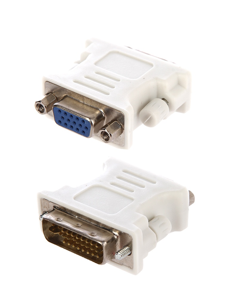 Фото - Аксессуар Orient DVI-I M to VGA 15F C393 / C393N White переходник displayport m hdmi dvi i vga черный orient c309 30309