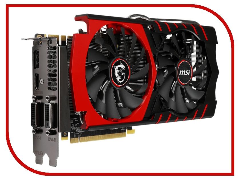 Видеокарта MSI GeForce GTX 970 1140Mhz PCI-E 3.0 4096Mb 7010Mhz 256 bit 2xDVI HDMI HDCP GTX 970 GAMING 4G V316-03S/09