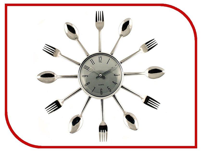 Часы настенные Эврика Ложки и вилки 91198<br>