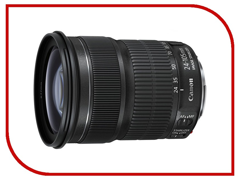 Объектив Canon EF 24-105 mm f/3.5-5.6 IS STM<br>