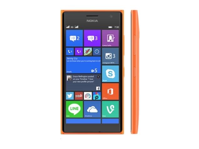 Сотовый телефон Nokia 730 Lumia Dual SIM Orange