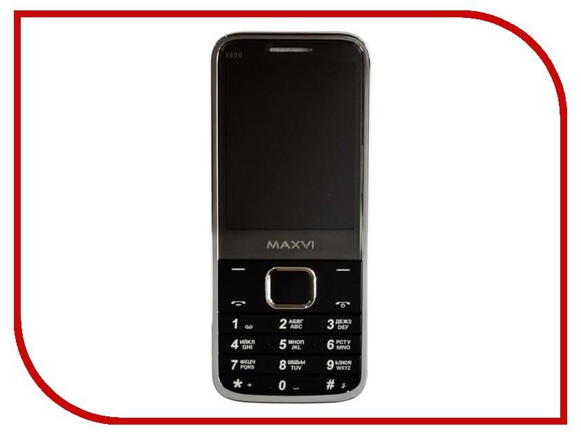 Сотовый телефон Maxvi X850 Black