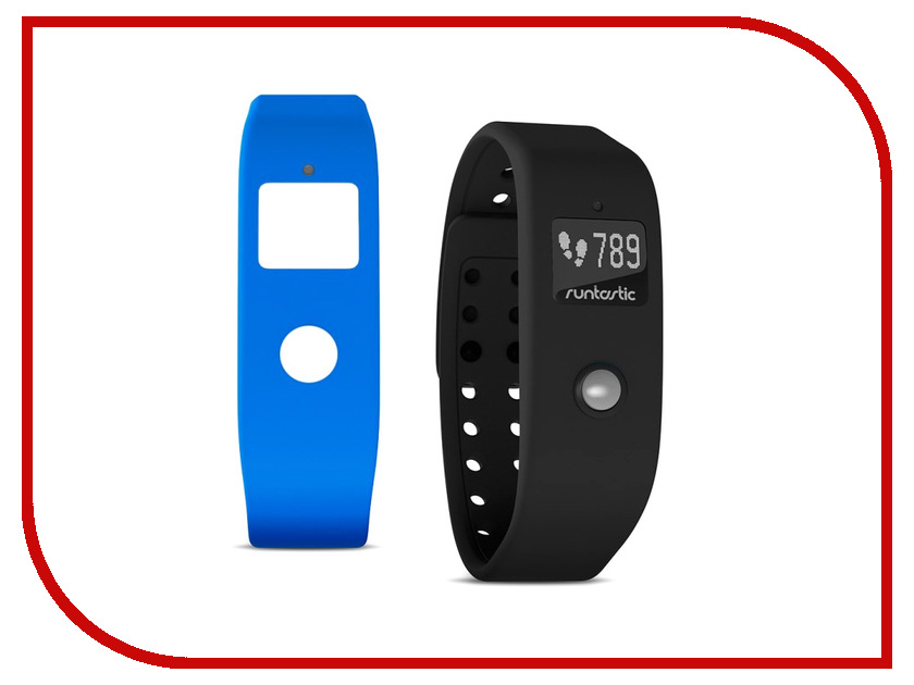 Умный браслет Runtastic Orbit RUNOR1 Black-Blue smart гаджет runtastic runcaa1w