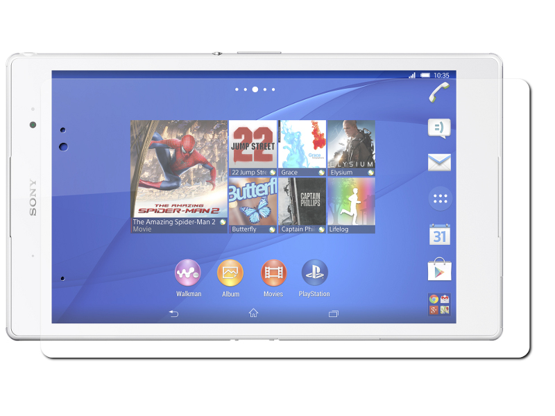 Аксессуар Защитная пленка Sony Tablet Z3 Ainy матовая<br>