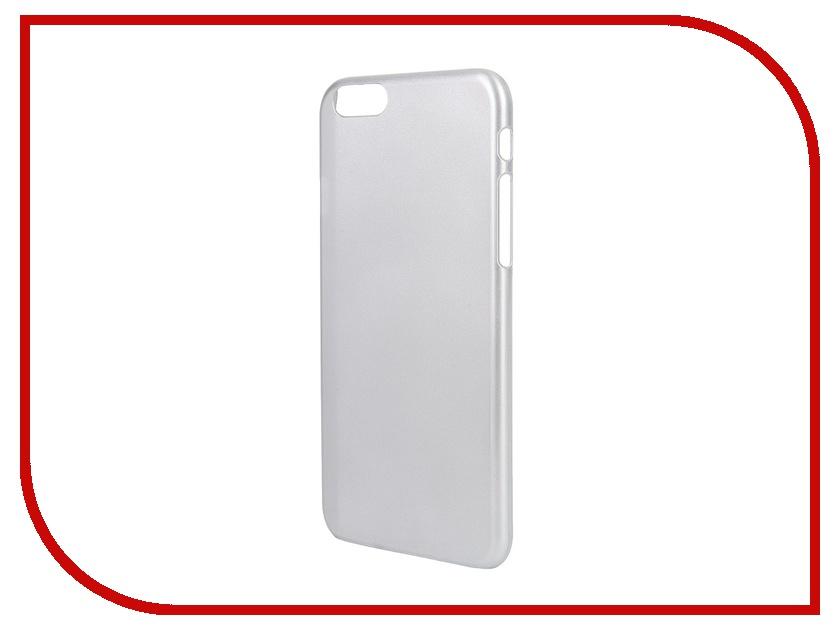 Аксессуар Крышка задняя Ainy QB-A025 для iPhone 6 PC Silver<br>