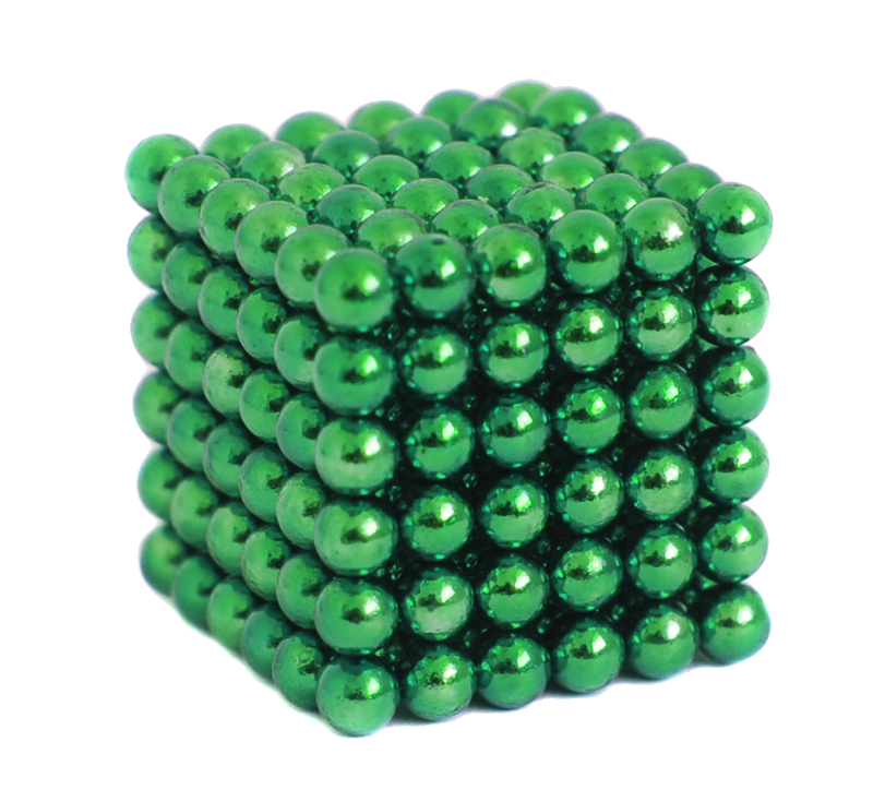 Магниты Crazyballs 216 5mm Green<br>