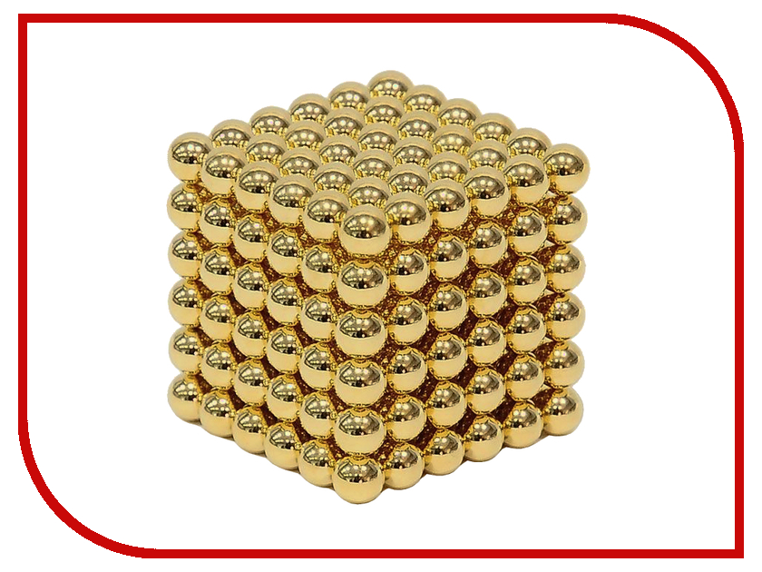 Магниты Crazyballs 216 6mm Gold<br>