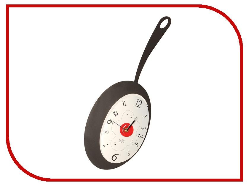Часы настенные Эврика Сковородка 25x55 90507<br>