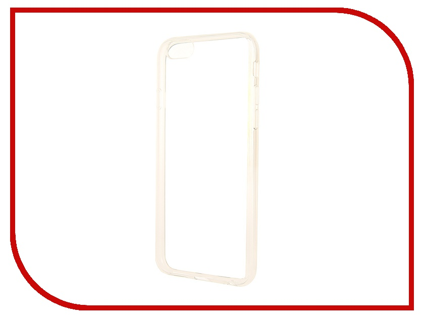 Аксессуар Чехол Ainy for iPhone 6 Transparent QF-A019<br>