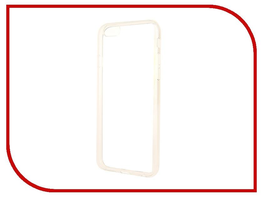Аксессуар Чехол Ainy for iPhone 6 Transparent QF-A019 чехол универсальный ainy