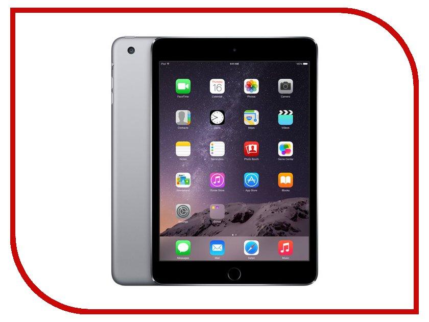 Планшет APPLE iPad mini 3 16Gb Wi-Fi + Cellular Space Grey MGHV2RU/A