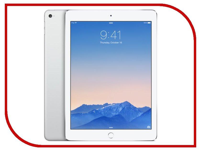 Планшет APPLE iPad Air 2 64Gb Wi-Fi Silver MGKM2RU/A