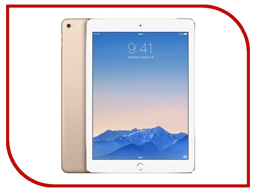 Планшет APPLE iPad Air 2 64Gb Wi-Fi + Cellular Gold MH172RU/A<br>