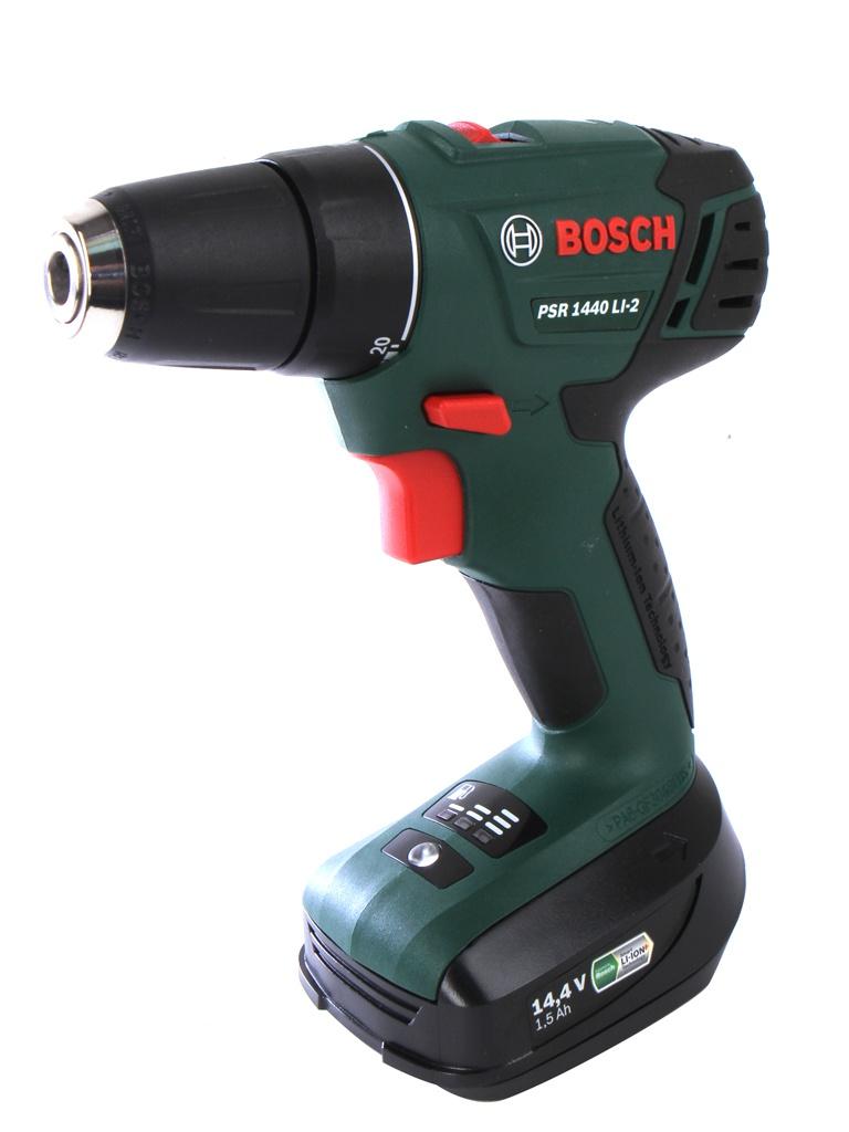 Электроинструмент Bosch PSR 1440 LI-2 1.5Ah x2 Case 06039A3021