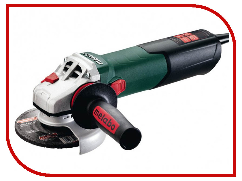 Шлифовальная машина Metabo WEV 15-125 Quick 600468000 ушм болгарка metabo wev 17 125 quick inox rt 601092000
