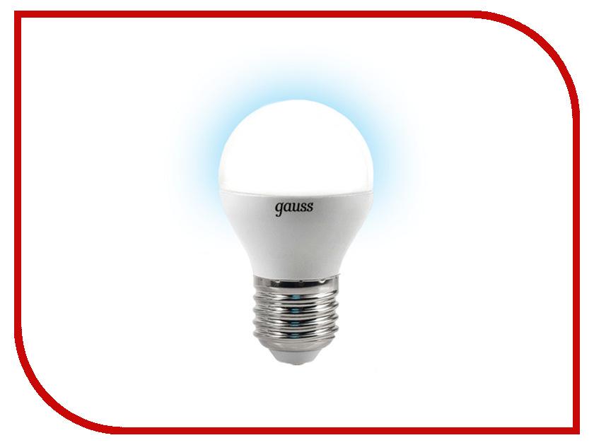 Лампочка Gauss 4W E27 4100K EB105102204<br>