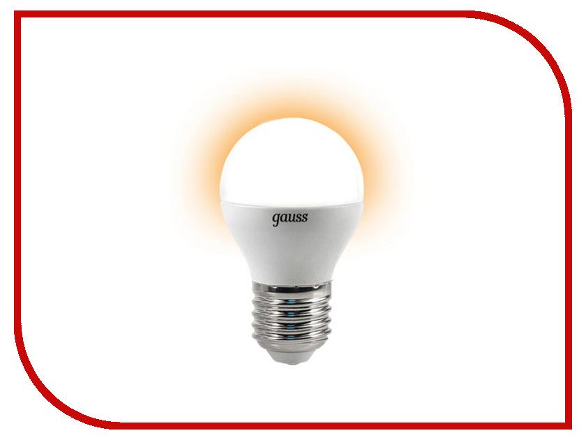 Лампочка Gauss 4W E27 2700K EB105102104