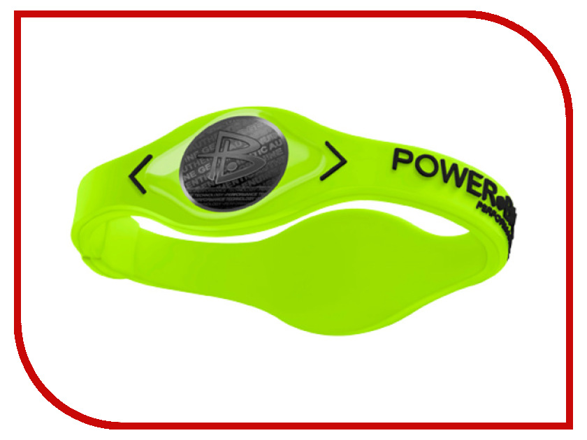 Браслет POWER BALANCE S Electric VOLT Black/Black