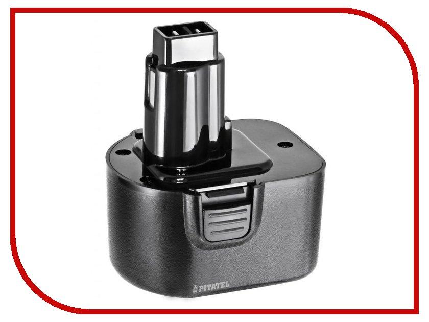Аккумулятор Pitatel 12V 1.3Ah Ni-Cd TSB-056-DE12/BD12A-13C для DeWalt