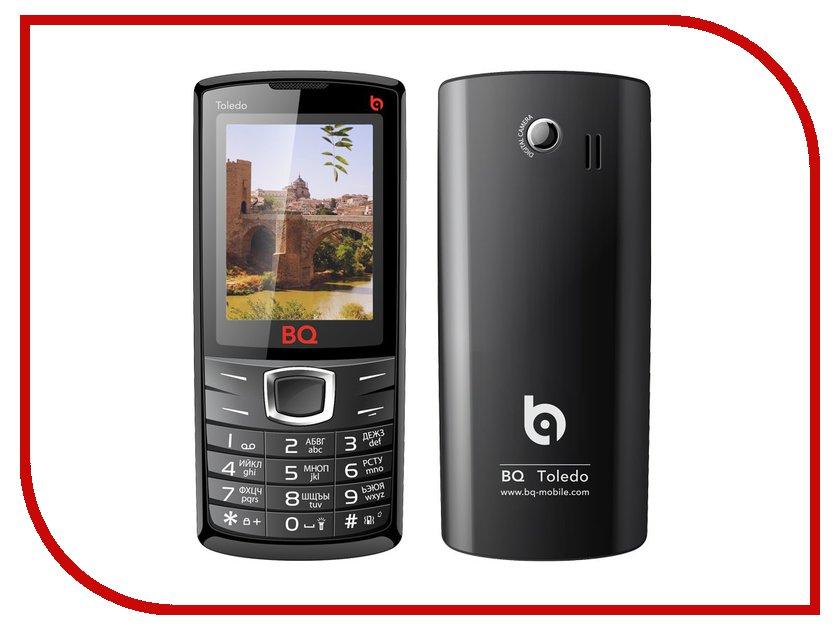 Сотовый телефон BQ BQM-2406 Toledo Black