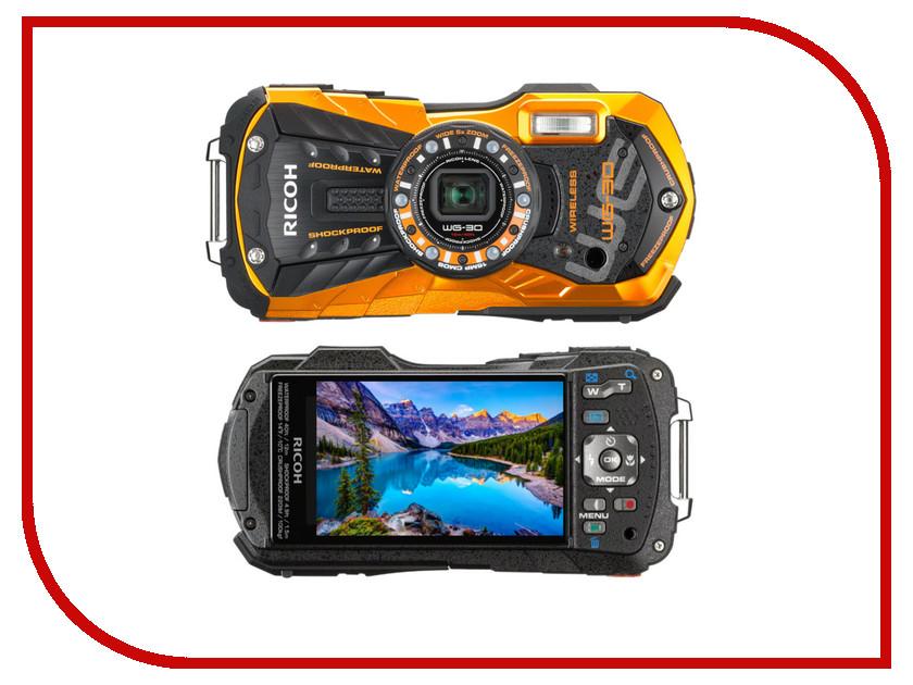Фотоаппарат RICOH WG-30W Orange цена ricoh hz15