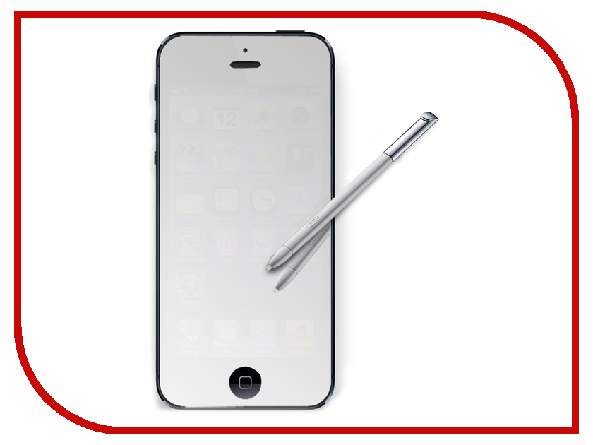 Аксессуар Защитная пленка Alwise для iPhone 5 / 5S / 5C зеркальная 24130<br>