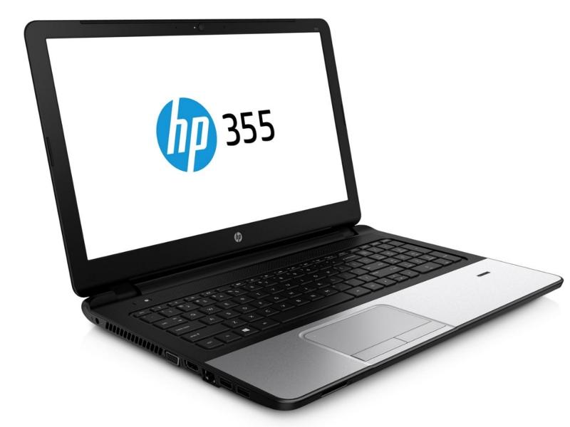 Ноутбук HP 355 G2 J4U23ES AMD A4-6210 1.8GHz/4096Mb/500Gb/DVD-ROM/Radeon R5 M240/Wi-Fi/Bluetooth/Cam/15.6/1366x768/Windows 8 64-bit<br>