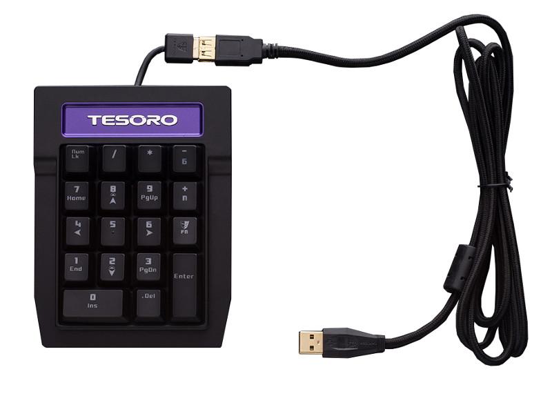 Клавиатура Tesoro Tizona Numpad TS-G2NP Red<br>