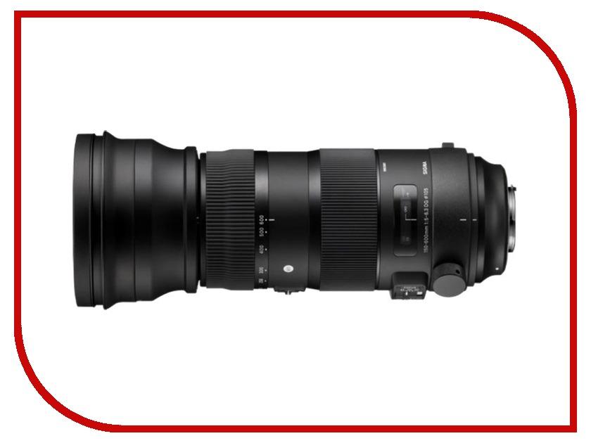 Объектив Sigma Canon AF 150-600 mm F/5.0-6.3 DG OS HSM Sports