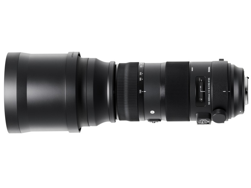 Объектив Sigma Nikon AF 150-600 mm F/5.0-6.3 DG OS HSM Sports new sigma contemporary 150 600mm f 5 6 3 dg os hsm telephoto zoom lens for nikon