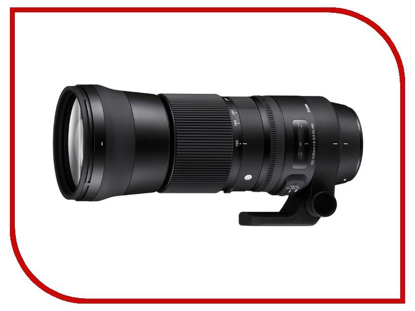 Объектив Sigma Nikon AF 150-600 mm F/5.0-6.3 DG OS HSM Contemporary sigma sigma art 24 70 f2 8 dg os hsm полнокадровой постоянной большой апертурой стандартный зум объектив портрет пейзаж туризм nikon байонет объектива
