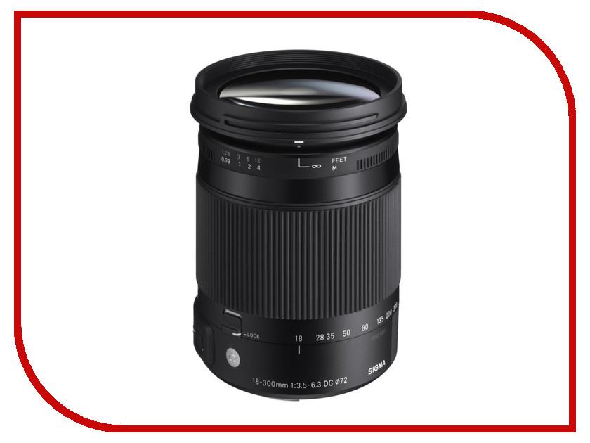 Объектив Sigma Sony / Minolta AF 18-300 mm F/3.5-6.3 DC Macro HSM Contemporary