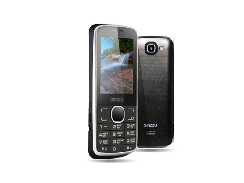 Сотовый телефон Ginzzu M101 DUAL Black<br>