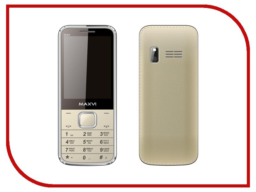 Сотовый телефон Maxvi X850 Gold сотовый телефон maxvi x850 gold