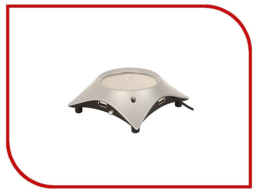 Подставка с подогревом Эврика R-678 от USB Grey 92727<br>