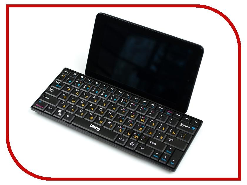 Клавиатура беспроводная Dialog Prestige KP-210BT Black
