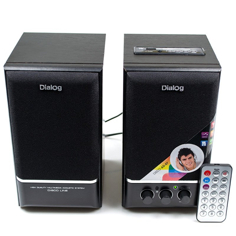 Колонки Dialog AD-07 Black<br>