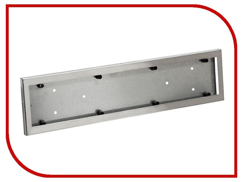 Аксессуар DolleX SPL-29 - рамка номерного знака, нержавеющая сталь<br>