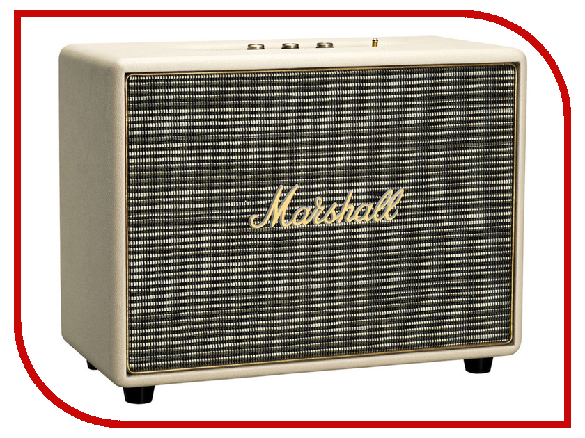 Колонка Marshall Woburn Cream портативная колонка marshall kilburn cream