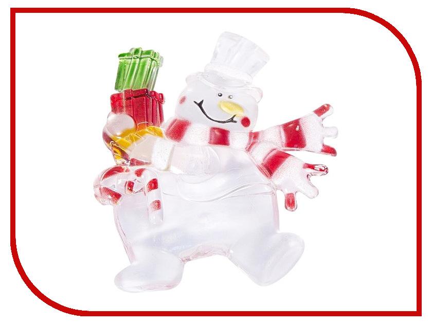 Новогодний сувенир Neon-Night Снеговик с подарком 501-022