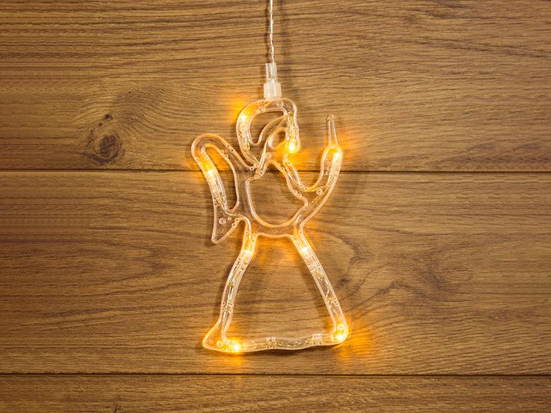 Светящееся украшение Светодиодная фигурка Neon-Night Ангелок 501-015